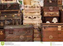 Old Suitcases Old Suitcases Royalty Free Stock Images Image 33034449