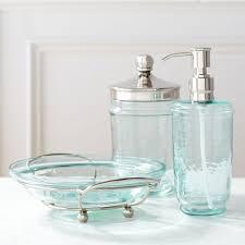 frosted glass bathroom accessories. Sea Glass Backsplash Ideas Foam Tile Coastal Bath Accessories In .. Frosted Bathroom G
