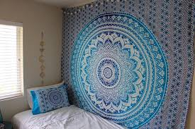 hippy throw mandala tapestry indian wall hanging tapestry bohemian tapestries queen bedsheet