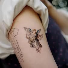 Angel Tattoo Tetování Anděl