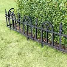 white garden border fence cast iron garden border fencing flexible white picket fence garden borders set