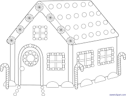 gingerbread house clipart black and white. Beautiful White Clipart Freeuse Download Sweet Clip Art Page Of Cute Free Library  Stock Gingerbread House Black And White Intended House Clipart Black And White S