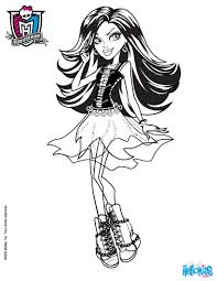 Small Picture Coloring Pages Monster High Printable Coloring Pages Abbey