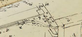 North arrows point symbols blueprints. Richard Iii S Blue Boar Inn S Architect Plans University Of Leicester