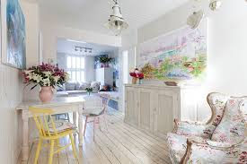 Simplicity Shabby Chic Dining Room Decorating Ideas