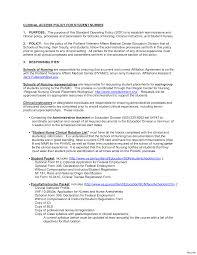 Nursing School Resume Template Proyectoportal Com