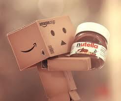 amazon box cute. Modren Cute Nutella Danbo And Chocolate Image In Amazon Box Cute O