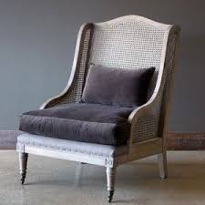 Pin by Theresa Pierce on Prairie House in 2020 | Wing chair, Velvet  cushions, Chair