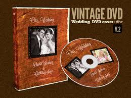 Wedding Dvd Template Vintage Wedding Dvd Covers Disc Label V 2 By Sherman Jackson