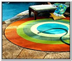 circular outdoor rugs round for patios large half circle new outdoo