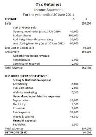 The Income Statement Boundless Finance