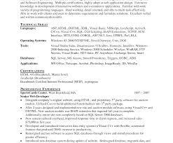 Sql Resume Example Sql Database Developer Resumeample Oracle Plsql Pl Format Junior 29