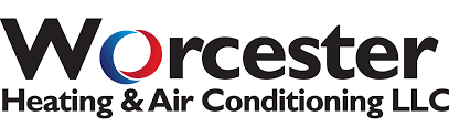 heating and air logo. worcester heating and air conditioning logo