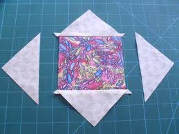 diamond in square quilt blocks Archives - Ludlow Quilt and Sew & Sew the first two triangles to the square Adamdwight.com