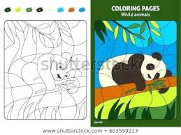 Animals Coloring Pages Wild Animal Zoo Baby Printable To Print Wildlife