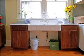 fancy kitchen sink with legs and great vintage farmhouse sink idea