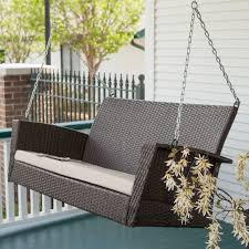 furniture for porch. Cool Anging Porch Glider Design For Your Contemporary Furniture