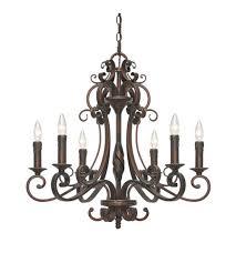 golden lighting chandelier. Golden Lighting Meridian 6 Light Chandelier In Bronze 3890-CN6-GB W