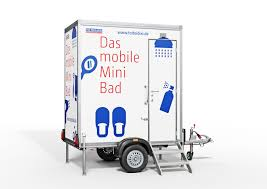 Das Mobile Minibad Komfort Auf Zwei Rädern Dixi Klo