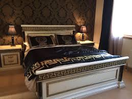 Versace style imported italian bedroom suite ***Stunning quality very heavy  ***