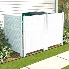 hide your outdoor garbage cans trash can fence to how conceal storage brute hid hide outdoor trash cans