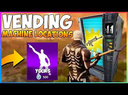 Vending Machine Near Me Enchanting NEW Vending Machine LOCATIONS Leaked Create Your Own EMOTE With