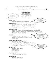 Culinary Arts Resume | Cvfree.pro