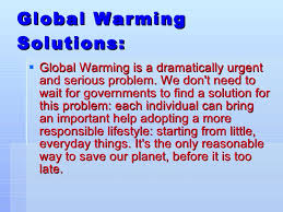 global warming global warming solutions