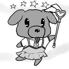 ペットちゃんをかわいいデフォルメキャラクター風に描きます複数ok