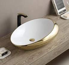 wash basin bathroom porcelain vessel