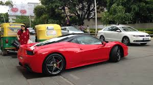 ferrari cars in bangalore