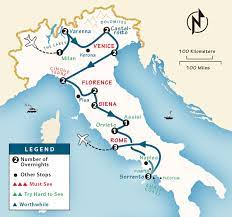 italy itinerary where to go in italy