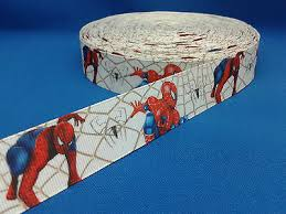 1 Metre Length Of Stan Lees Spiderman Design Cakecraft Ribbon