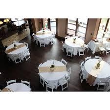 white restaurant table cloth