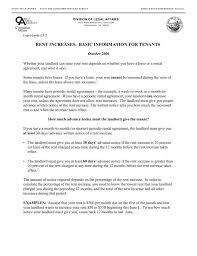 Rent Increase Notification Letter Rent Increase Notice California Lofts At Cherokee Studios