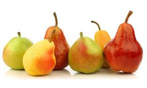 Pear Identification Chart Comparing Different Types Of Pears And How To Use Them