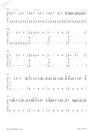 Sweater Weather The Neighbourhood Numbered Musical Notation Preview