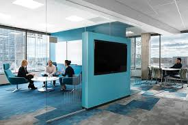 Office floor design Innovative Silicon Valley Bank Meeting Area Is Designed To Foster Connections Between Teams Interior Design Open Offices Are Losing Some Of Their Openness Wsj