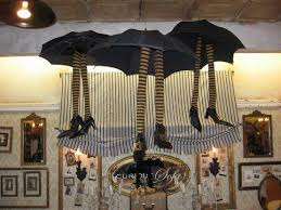 office halloween ideas. my office decorations for halloween black umbrellas and witch legs how fun followpicsco ideas o