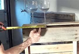 pallet wine glass rack. Diy Pallet Wine Rack Wood At Joycom Glass . O