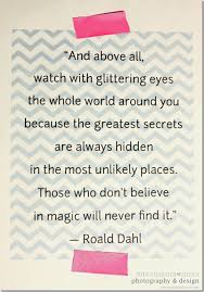 Roald Dahl Quotes Classy Quote Art Roald Dahl Mama Miss