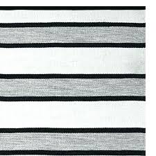 black and white rug ikea awning stripe indoor outdoor rug black white and perennials pixel outdoor