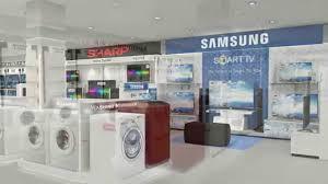 Electronic Interior Design One Stop Electronics Showroom Plan