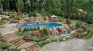Backyard Design With Pool Simple Design Inspiration