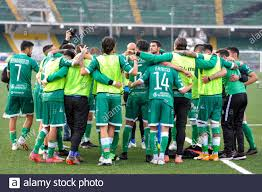 Avellino, Italy. 09th June, 2021. Players of US Avellino during the Lega  Pro Playoff match between US Avelino and AC Padova at Partenio Adriano  Lombardi stadium in Avellino, Italy on June 9,