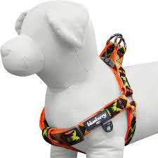 Dog Harness Pattern Best Vintage Tribal Pattern Neoprene Padded Dog Harness In Extravagant Orange