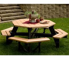 Berlin gardens resin 86 octagon picnic table