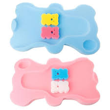 2018 baby bath seat infant non slip soft bath foam pad mat cushion sponge non slip bathtub mat safety security bathtub seat from shuishu