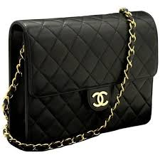Best 25+ Chanel chain bag ideas on Pinterest | Chanel bags, Chanel ... & CHANEL Chain Shoulder Bag Clutch Black Quilted Flap Lambskin ($1,445) ❤  liked on Polyvore Adamdwight.com