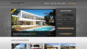Real Estate Website Templates Delectable The 48 Best Real Estate WordPress Themes For Realtors Housing Agencies